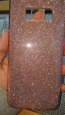 Samsung galaxy s8 Phone Case Rose Gold Glitter Beautiful