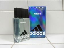 ADIDAS MOVES AFTERSHAVE FOR MEN 1.7 OZ BOTTLE *NEW IN BOX*