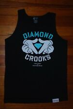 Men's Crooks and Castles x Diamond Supply Co. Muscle Graphic Tank Top (Medium)