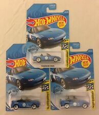 hot wheels 91 mazda mx-5 miata Lot Of 3