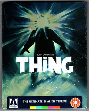 THE THING BLU-RAY STEELBOOK NEU & OVP SEALED SOLD OUT REMASTERED