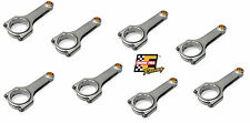 "CHEVY LS LS1 LS2 LS3 6.125"" 4340 FORGED H-BEAM CONNECTING RODS ARP 2000 BOLTS"