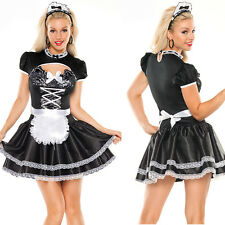 Free Ship Halloween Woman Wench Maid Costume Oktoberfest Beer Girl Fancy Dress