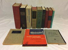 Lot of 12 Vintage Books - Educational, Instructional, History 1942 - 1975