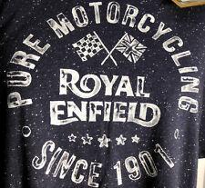 Tee-shirt Royal Enfield Bleu Taille M