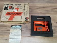 Vintage Black & Decker 2-Speed 2500-3200 3.0 Amp Jig Saw Cat. No. 7531 + Case