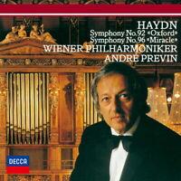 ANDRE PREVIN-HAYDN: SYMPHONIES NOS. 92 & 96-JAPAN SHM-CD D20