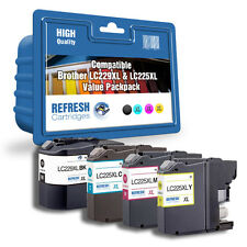 Everyday Valuepack of 4 Compatible Brother LC229XL & LC225XL Ink Cartridges