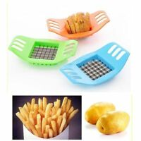 French Fry Potato Chip Cut Cutter Vegetable Fruit  Chopper Easy Kitchen