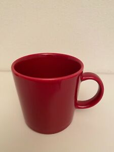 iittala teema 4 Kaffeetassen Teetassen rot, wie NEU,keine Gebrauchsspuren 13€/St