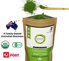Matcha Green Tea Powder 100g - USDA Organic - Premium Quality From Kyoto Japan