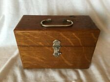 Antique Quack Medical Device Oak Box