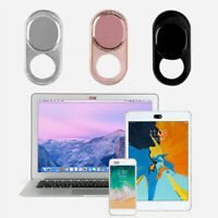 3 x WebCam Cover Slide Camera Privacy Security for Phone MacBook Laptop Metal
