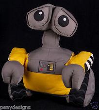 "Wall E Plush Large 13.5"" Disney Store Pixar Yellow Toy w/ Rotating Head Robot"