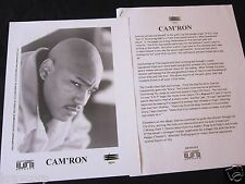 CAM'RON 'CONFESSIONS OF FIRE' 1998 PRESS KIT--PHOTO