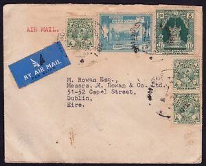 BURMA 1952 AM Cover to England @D9213L