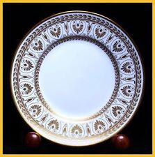 6 x Crown Staffordshire Gold Victoria 6 1/4 Inch Tea Plates 1st Quality New Unus
