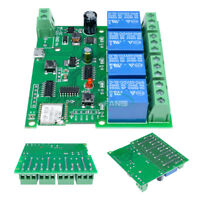 DC 5V 4-Way WiFi Wireless Delay Relay Switch APP Remote Control for Smart Home