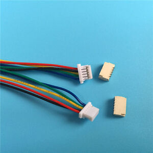 10 Sets JST SH 1.0MM 5-Pin Connector plug male female with Wire 100MM