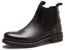 Wrangler Hill Chelsea Mens Leather Pull On Dealer Boots