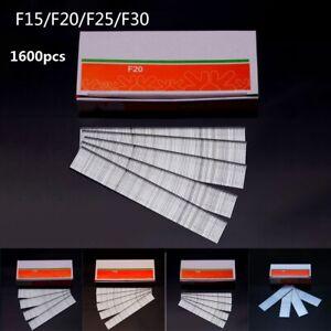 1600pcs Nail Straight T-Staple Nails 15-30mm For Staple Tool Stapler Woodworking