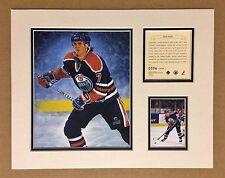 Edmonton Oilers JASON ARNOTT 1995 NHL Hockey 11x14 Matted Lithograph Print