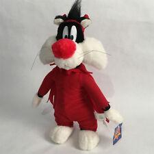 "1998 Looney Tunes 16"" Devil Sylvester Plush"
