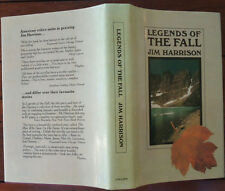 Legends of the Fall by Jim Harrison - 1980 - 1st UK Edition - Fiction - Hardback