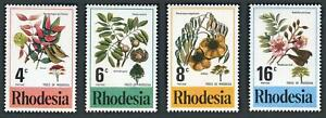 Rhodesia: 1976 Trees of Rhodesia (371-374) MNH