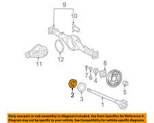 TOYOTA OEM 95-04 Tacoma Axle Differential-Rear-Oil Deflector 4244135020