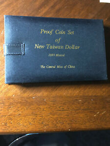 New Taiwan Dollar Proof Coin Set 2003