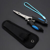 Stainless Steel Long Nose Equipment Fishing Pliers Tools Clamp Multifunctional