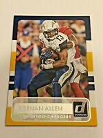 2015 Panini Donruss Football Base Card - Keenan Allen - San Diego Chargers