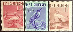 Albania 1961 Birds MNH
