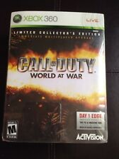 Call Of Duty World At War Limited Collector's Edition (Microsoft Xbox 360, 2008)