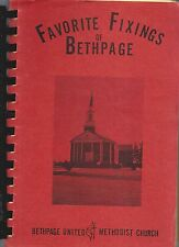 KANNAPOLIS NC VINTAGE FAVORITE FIXINS COOK BOOK BETHPAGE UNITED METHODIST CHURCH