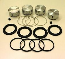 FORD CORTINA MKIV & V  SET OF 4 FRONT CALIPER PISTONS & SEALS