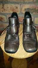 Rieker Brown ankle boots size 39 Made in Germany  -  new without box