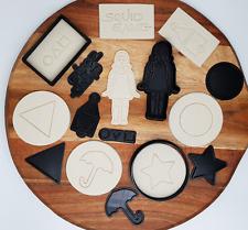 Squid Game Cutter & Stamp Set Cookies / Fondant / Cakes / Dalgona - 11 Pieces