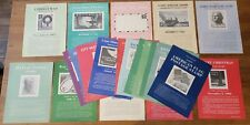 Vintage 1960's Post Office Bulletin Board Stamp Poster Lot 22 Various Issues