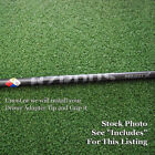 Project X Golf HZRDUS Black Driver Shaft Uncut or w/Adapter Tip & Grip - NEW