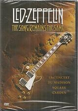 DVD *** LED ZEPPELIN - THE SONG REMAINS THE SAME ***  ( neuf sous blister )