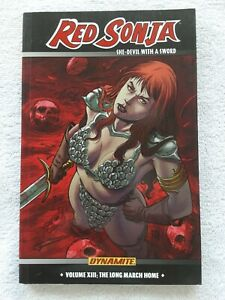 Red Sonja: She-Devil with a Sword Vol.13 The Long March Home(Dynamite, 2014) TPB