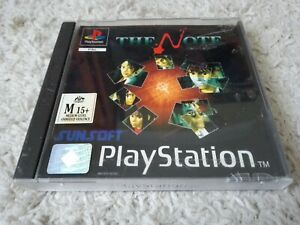 THE NOTE SONY PLAYSTATION 1 GAME BOXED COMPLETE