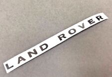 For Traxxas TRX-4 Upgrades Scale METAL LAND ROVER Logo Decal ( 2 SETS )