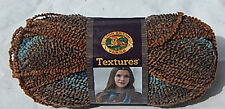 """Lion Brand """"Textures Yarn"""" in Desert Sands - NEW Smoke Free Home Worsted (4) Wt"""