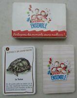 Jeu de 7 familles Kinder Ensemble Offert par Ferrero France / Complet