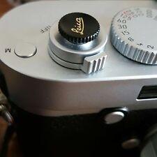 Camera Shutter Release Button Black for Leica M ME M3 MP M8 M9 Fuji X100 Nikon