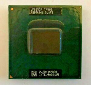 INTEL Core 2 Duo T7500 SLAF8 MOBILE - 2,20GHz / 4M / 800 - Sockel PGA479 #273