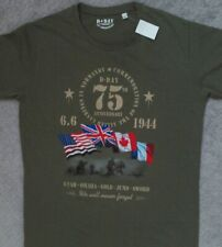 Normandy D-Day Anniversary T Shirt_ Size Large (fits like medium)_ New with tags